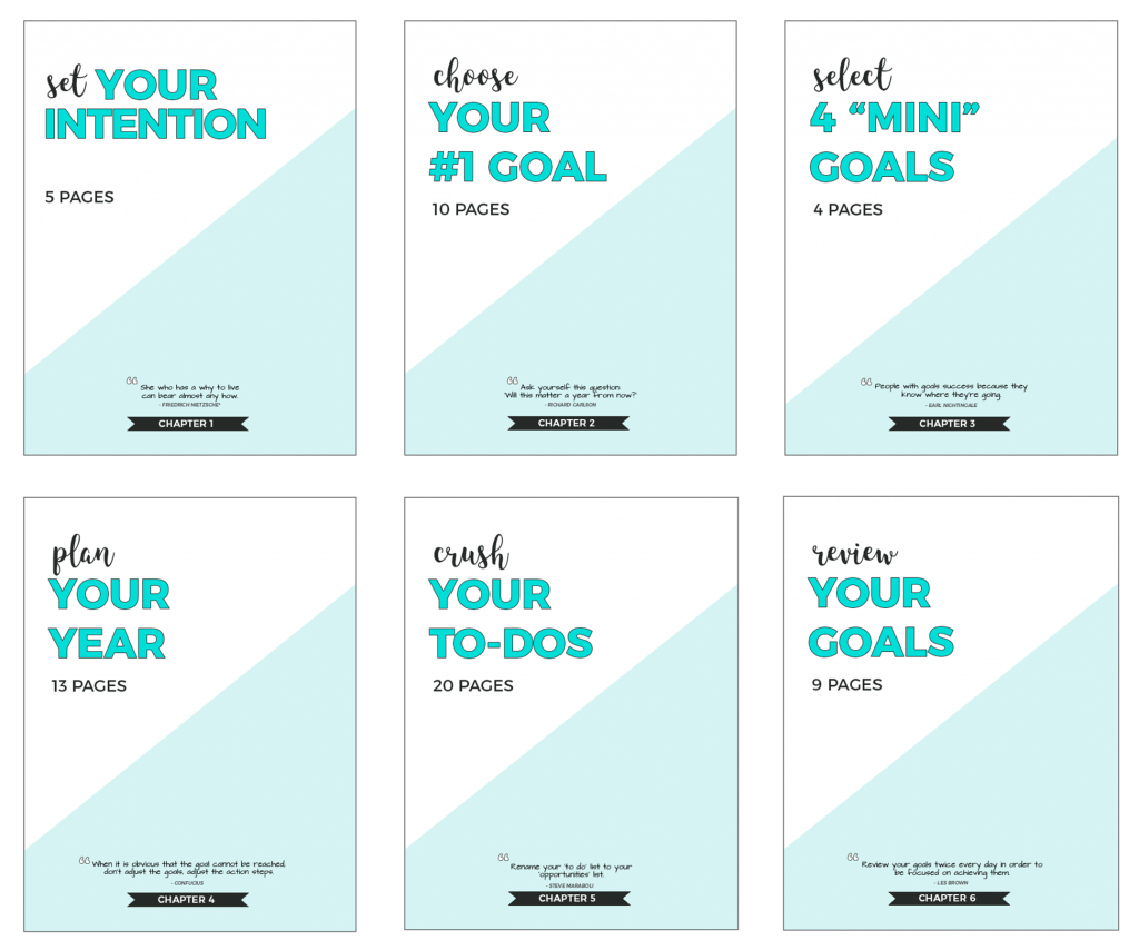 Slay Your Goals Planner-itsallyouboo.com-6 Chapters-60