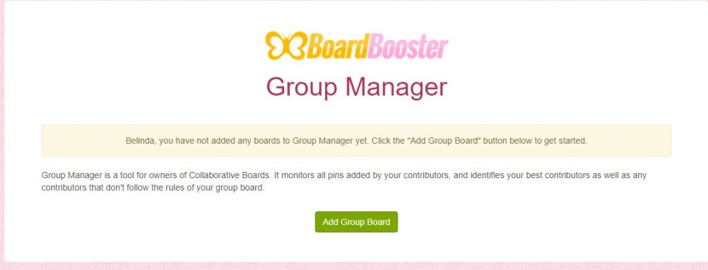 boardbooster group manager